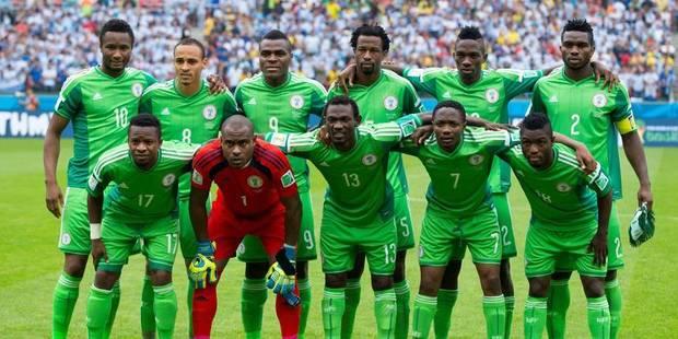 Les Nigérians annulent l'entraînement, un problème de primes ? - La DH
