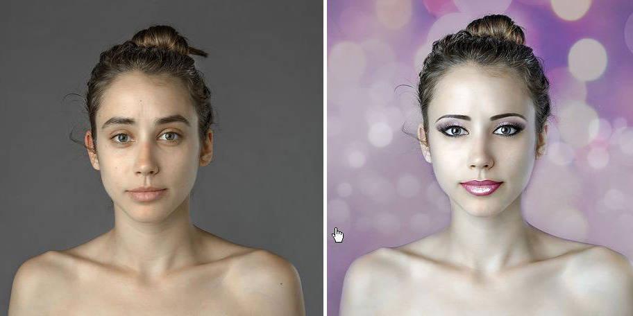 Les critères de beauté varient selon le pays, la preuve avec Photoshop