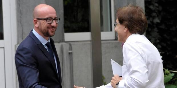 Formation: Elio Di Rupo et Charles Michel parlent enfin - La DH