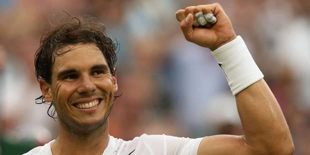 Nadal, Federer et Sharapova en 8e de finale à Wimbledon - La DH