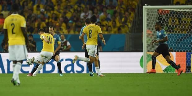 Le but d'anthologie de Rodriguez contre l'Uruguay - La DH