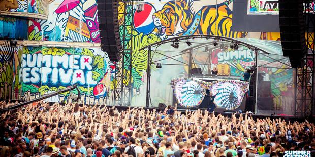 Summerfestival, la petite soeur de Tomorrowland - La DH
