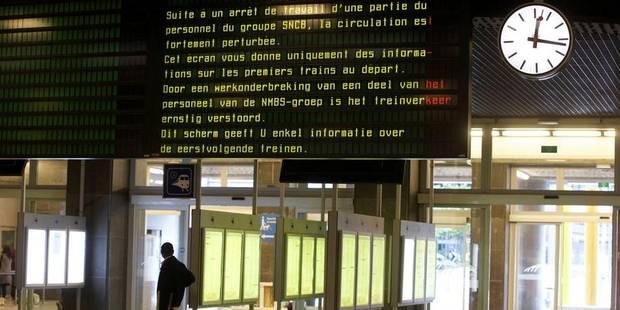 """Grève de ce 30 juin: la CGSP-Cheminots espère que la direction de la SNCB """"a compris le message"""" - La DH"""