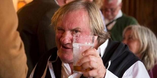 Depardieu, éméché, loupe le Festival d'Edimbourg - La DH