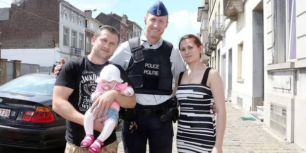 Nos policiers ont sauvé la vie d'un bébé - La DH