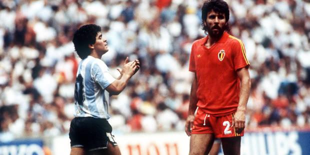 """Maradona: """"Si on ne se réveille pas, on va avoir des problèmes contre la Belgique"""" - La DH"""