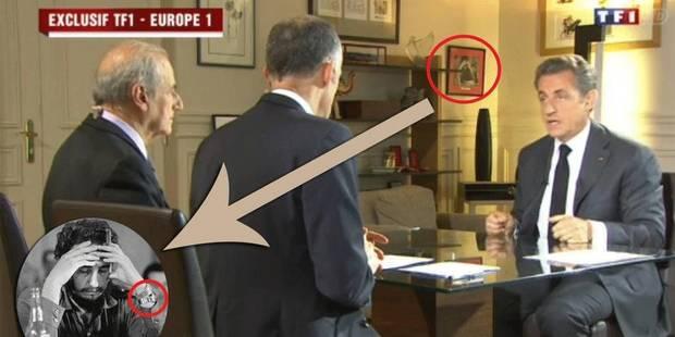 La photo insolite du bureau de Sarkozy - La DH