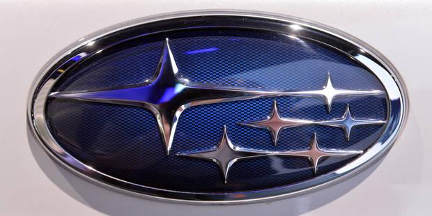 2.000 à 3.000 Subaru rappelées en Belgique - La DH