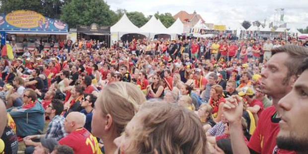 Argentine-Belgique: l'ambiance vue de Werchter - La DH