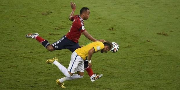 Le Brésil veut une sanction contre Zuniga et le retrait du carton de Silva - La DH