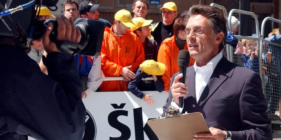 Gérald Holtz se prend la tête avec un policer belge en direct