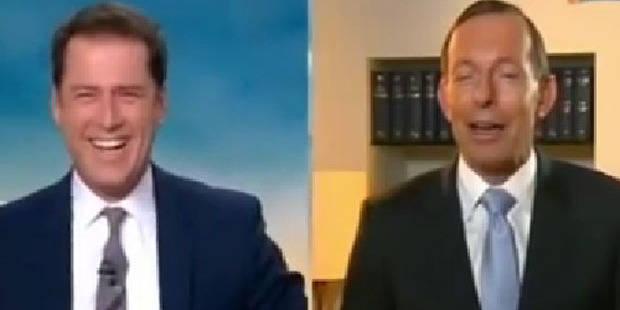 Le premier ministre australien éméché en plein direct - La DH