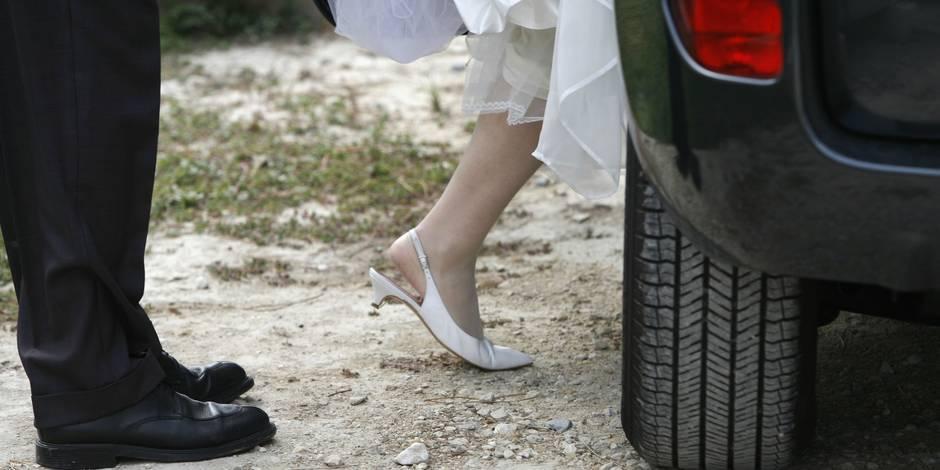 """220 € pour avoir klaxonné """"sans motif valable"""" lors d'un cortège de mariage ! - La DH"""