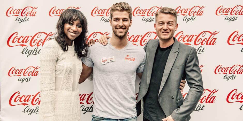 C'est lui : l'homme Coca-Cola