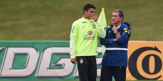 Dernier entraînement du Brésil dans la bonne humeur mais sans Thiago Silva - La DH