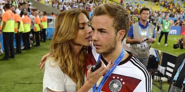 Mario Götze vous présente sa femme - La DH