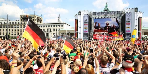 L'Allemagne a fêté sa Mannschaft - La DH