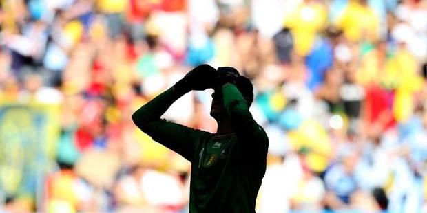 Thibaut Courtois dit adieu au public de l'Atlético - La DH