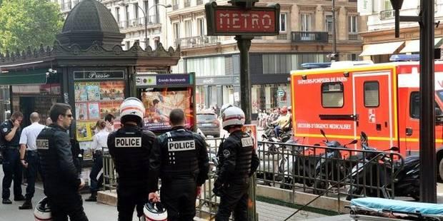 Une tentative de braquage à Paris finit en fusillade dans le métro - La DH