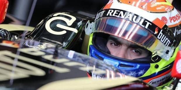 Lotus prolonge Pastor Maldonado - La DH