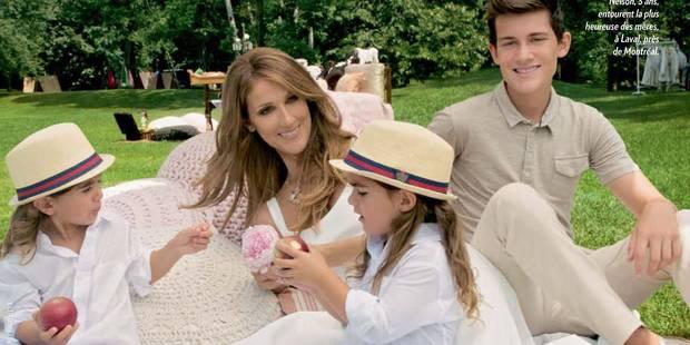 """Céline Dion: """"Il y a eu des frictions avec mon fils"""" - La DH"""