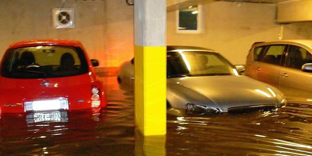 Arlon: garages et commerces sous eau - La DH