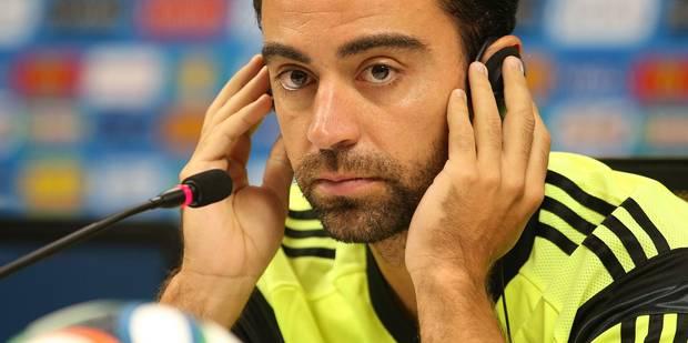 Xavi ne portera plus le maillot de la Roja - La DH
