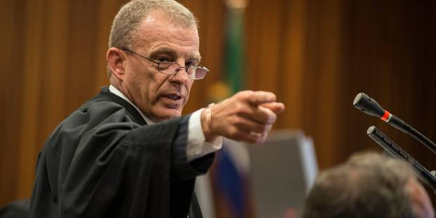 """Pour le procureur, Pistorius """"ne peut pas échapper à une condamnation pour meurtre"""" - La DH"""