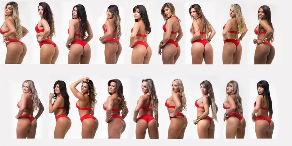 Les candidates au plus beau fessier brésilien de l'année sont connues...