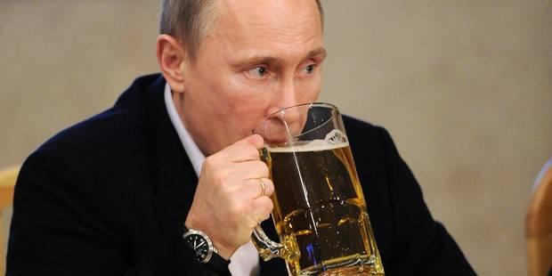 Ouf, la bière pas concernée par l'embargo russe - La DH