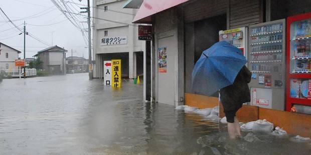 Le typhon Halong repart en mer après avoir semé le chaos au Japon - La DH