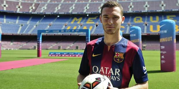 Vermaelen portera le numéro 23 au Barça - La DH