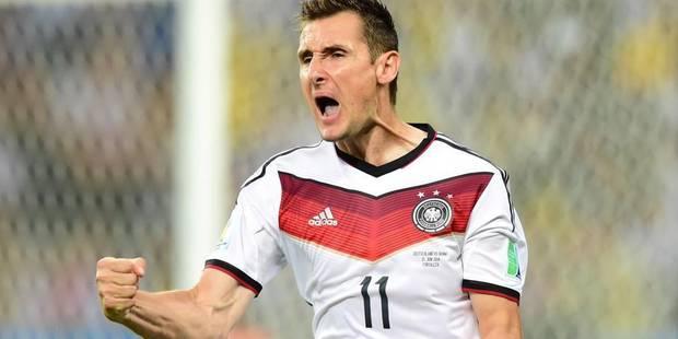 Retraite internationale et hommage en Allemagne pour Klose - La DH