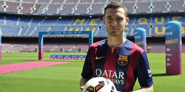 Stade vide et critiques de la presse: Vermaelen froidement accueilli à Barcelone - La DH