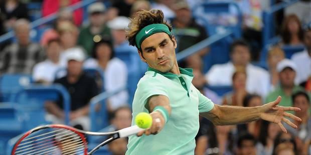 Cincinnati: Federer et Ferrer en demi-finale - La DH