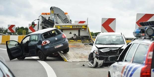 Les jours des deux policiers fauchés sur la E19 ne sont plus menacés - La DH