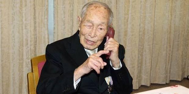Un Japonais devient l'homme le plus vieux au monde - La DH