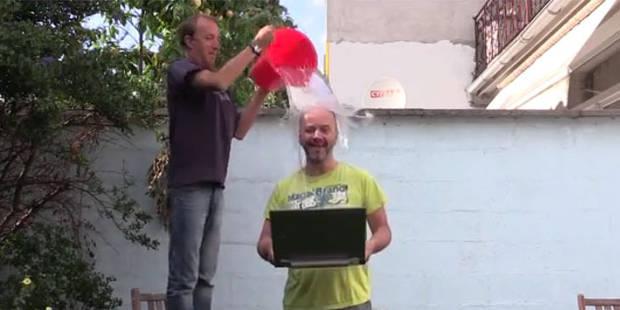 Ice Bucket Challenge: Jérôme de Warzée, Sophie Pendeville et Emilie Dupuis ont relevé le défi de la DH - La DH