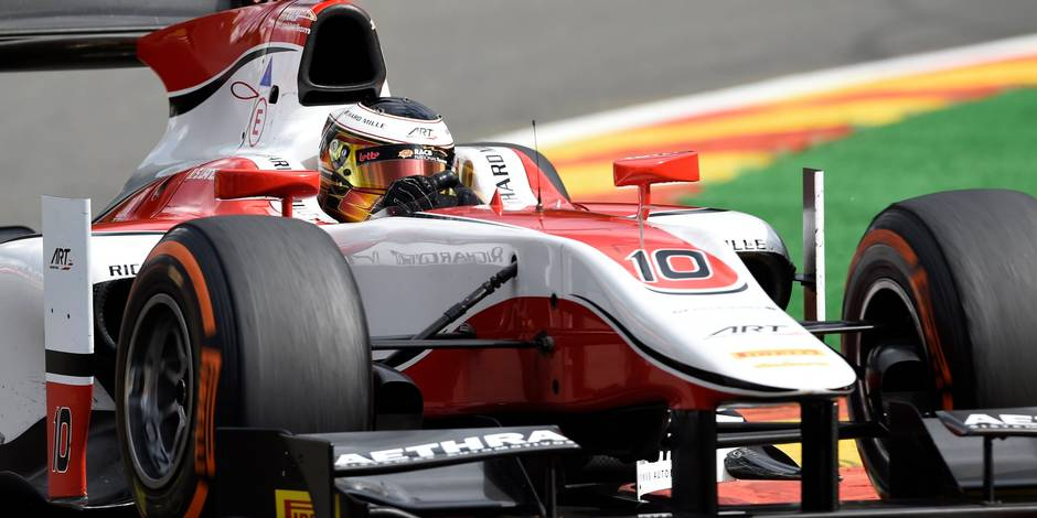 GP2 Series: pole-position pour le Belge Vandoorne à Spa-Francorchamps !