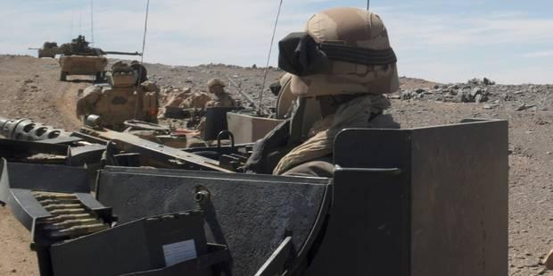Quatre militaires belges blessés au Mali - La DH