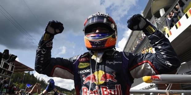 Daniel Ricciardo remporte le GP de Belgique - La DH