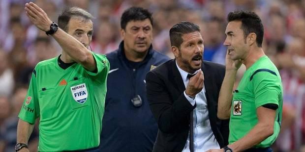 Atletico Madrid: Diego Simeone suspendu huit matchs - La DH