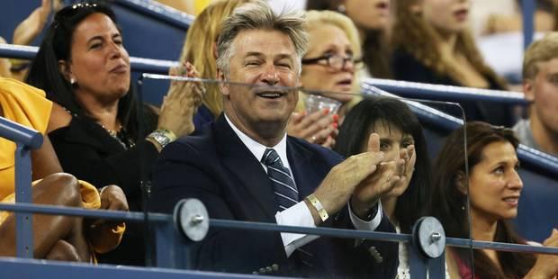 US Open: quand Alec Baldwin rattrape une balle en tribunes... - La DH