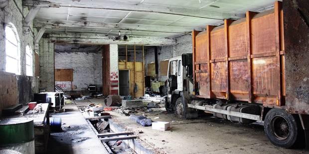 L ancien arsenal des pompiers squatt la dh - Atelier a vendre belgique ...