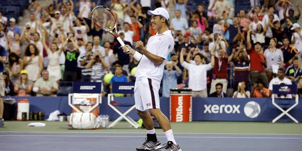US Open: Nishikori sort Raonic à 2h26 du matin ! - La DH
