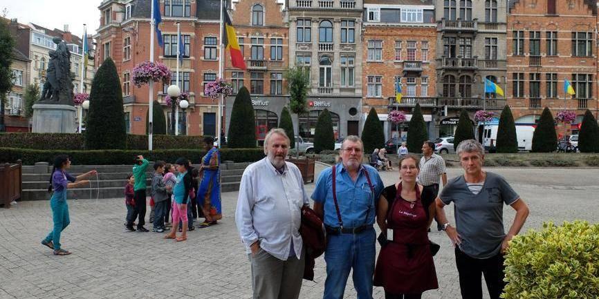 Les commerçants d'Anderlecht en ont ras-le-bol des Roms - La DH