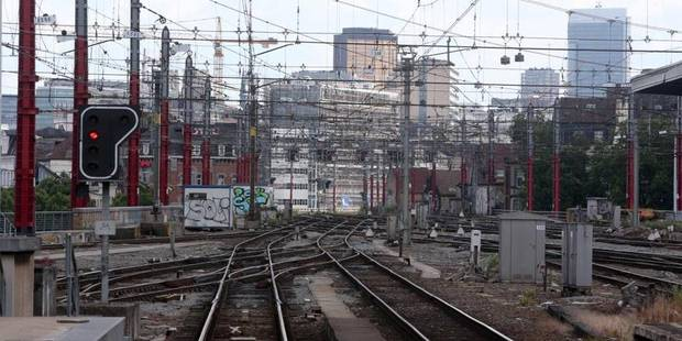 La Ville de Bruxelles à l'amende pour une grève sur un site de la SNCB - La DH