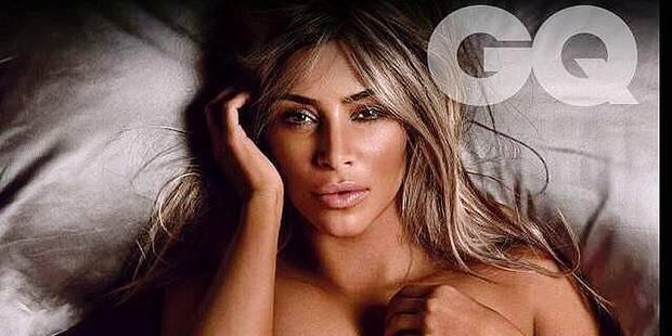 Kim Kardashian (encore) dénudée - La DH