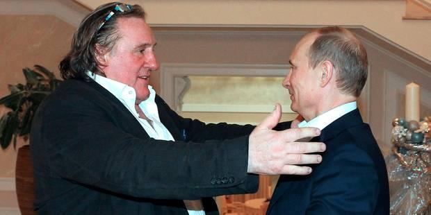 """Depardieu """"fier"""" que la Serbie ne sanctionne pas la Russie - La DH"""