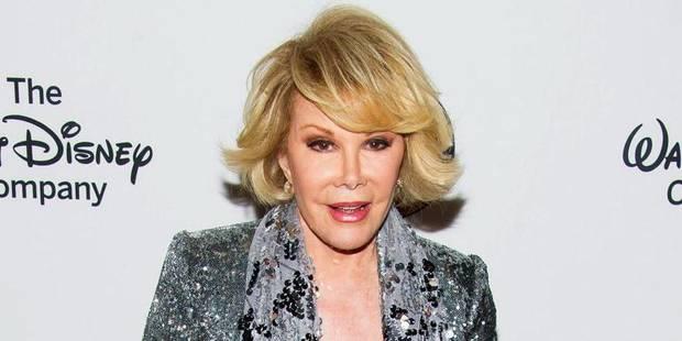 Joan Rivers est décédée - La DH
